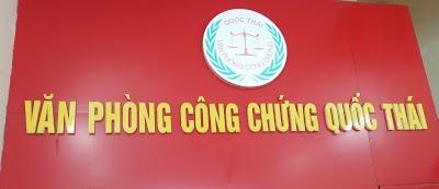 Danh sách văn phòng công chứng uy tín tại huyện Thanh Trì